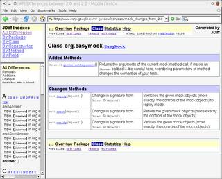 JDiff Screenshot